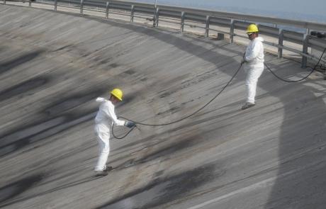 Ultimati i lavori di rivestimento bituminoso della diga di Ogliastro